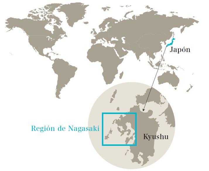MAPA REGION NAGASAKI